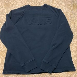 Gently used vans crew neck sweater